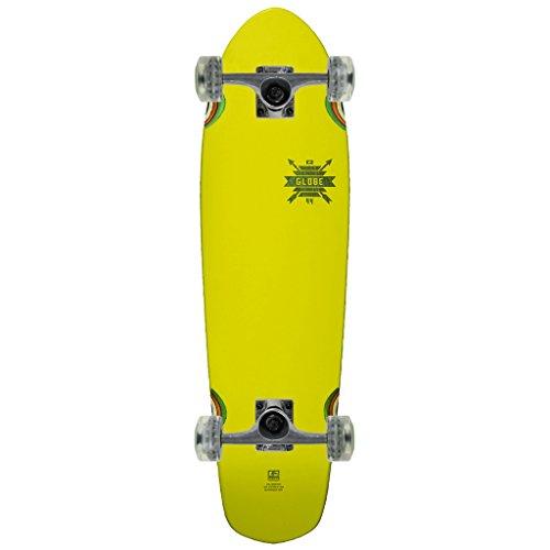 Globe Cruiser Skateboard Complete BLAZER BLAZING YELLOW RASTA 7″ x 26″