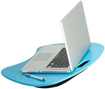 Honey-Can-Do TBL-03539 Portable Laptop Lap Desk with Handle, Blue, 23 L x 16 W x 2.5 H