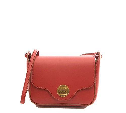 Red Minibag Tomato Leither Coccinelle Crossbody Calf qAgx4WawX