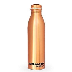 Watamate Copper Water Bottles, 950 ml, Set of 1