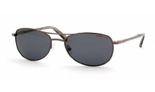 Carrera 928/S Sunglasses-7SJP Shiny Gunmetal (RA Gray Polarized - Oh Jackie Sunglasses