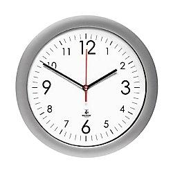 The Chicago Lighthouse Designer Quartz Wall Clock, Silver, 14