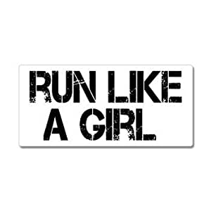 Amazon Com Run Like A Girl Running Cross Country