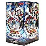 (Yu-Gi-Oh! Konami Yugioh Card ZEXAL Booster Pack Box OCG 200 Cards Judgment of the Light Korea Version)