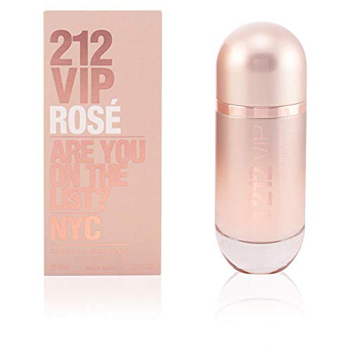 Rose Spray Edp - Carolina Herrera 212 Vip Rose Eau de Parfum Spray for Women, 2.7 Ounce