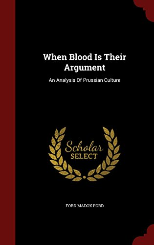 book cover of When Blood Is Their Argument