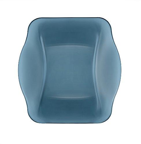 Bormioli Rocco Nettuno Soup Plates, Blue, Set of 12