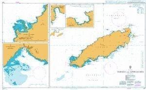 Ba Diagramm 477  Tobago und Ansätze von UNITED KINGDOM Hydrographic Büro