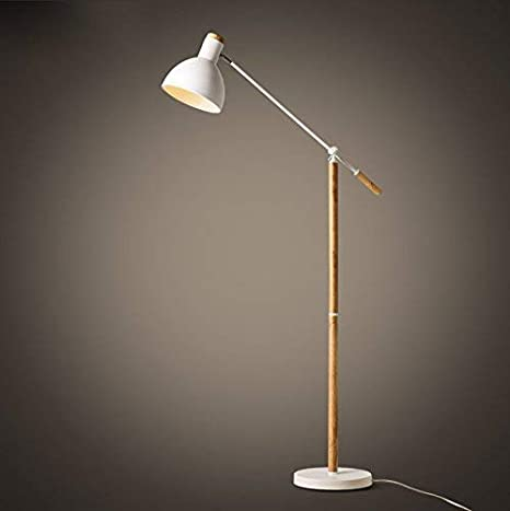 Amazon.com: MOM Long Pole Floor Lamp,Led Nordic Creative Bedroom ...