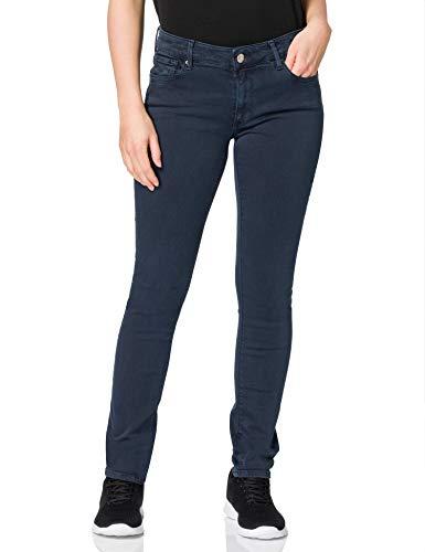 Replay Damen New Luz Hyperflex Colour Jeans, 010 Blue, 28 W / 30 L