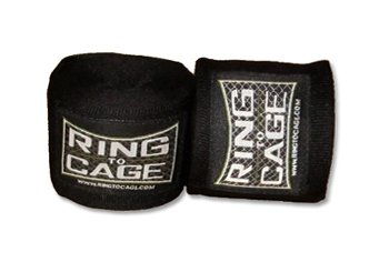 MMA Boxing Muay Thai Handwraps Mexican Style Stretchable-Black 120