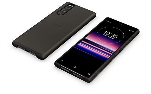 Back Cover 'SCBJ10' für Sony Xperia 5, schwarz