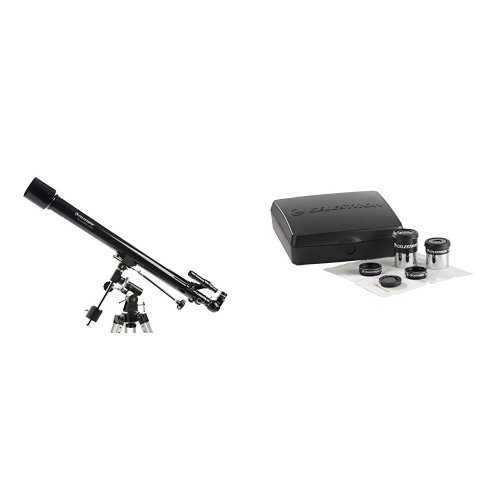 Celestron PowerSeeker 60EQ Telescope w/ Accessory Kit by Celestron