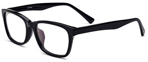 HEPIDEM Acetate Men Vintage Square Optical Glasses Frame Spectacles Eyeglasses - Acetate Glasses Frame