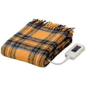 かわいい電気ひざ掛け毛布 ダニ退治機能/室温センサー付き B075B8LDN3 洗濯可 82cm×140c 日本製 長方形 日本製 82cm×140c B075B8LDN3:80beb334 --- ballyshannonshow.com