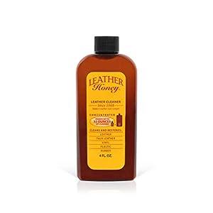 Le nettoyant Honey Leather est le meilleur pour vêtements en cuir et vinyle, meubles, intérieur d'automobiles…