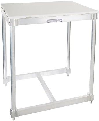 Amazon.com: PVIFS AIFT303424-PT Poly Top I-Frame Work Table, 24 ...