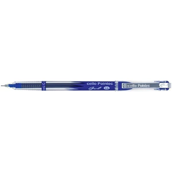 Cello Pointec Pro Gel Pen 0.6mm Office Use Purpose Smooth Writing Best writing