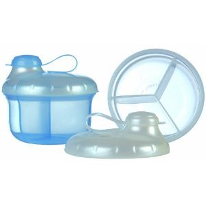 Cool Nuby Milk Powder Dispenser w/ Three Compartments Perfectly Sized for...