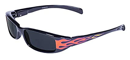 498b82612a Amazon.com  Global Vision Eyewear New Attitude Flames Sunglasses ...