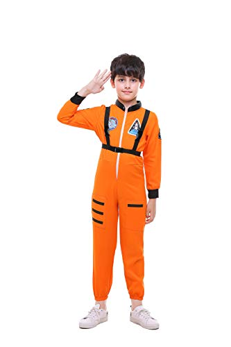 Albabara Astronaut Costume Role Play Halloween Dress-up Themed Party for Kids