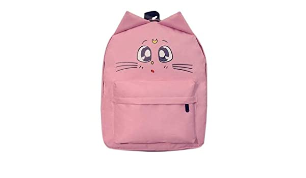 Amazon.com: Lovely Cat Printing Backpack Women Canvas School for Teenagers Ladies Casual Cute Rucksack Bookbags Mochila Feminina: Kitchen & Dining