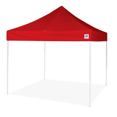 Commercial Enterprise II 10 Ft. W x 10 Ft. D Canopy Color: Red