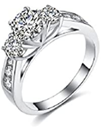 Anillos De Mujer Joyería Fina Moda 2018 Compromiso Aniversario Matrimonio Luxury Fashion Bridal Set Ring for Women Zirconia Crystal