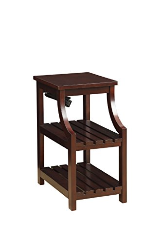 Acme Furniture AC-81955 Side Tables, One Size, Espresso Douglas Accent Side Table