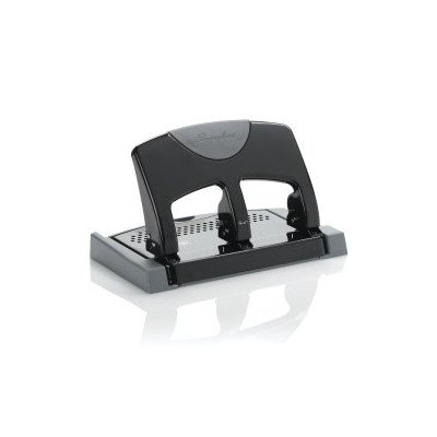Swingline SmartTouch 3-Hole Punch, Low Force, 45 Sheets [Set of 4]