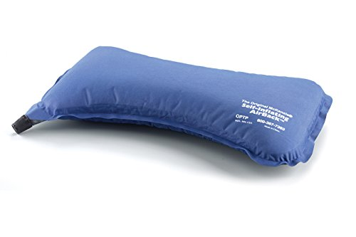 The Original McKenzie® Self-Inflating AirBack Lumbar Support by OPTP (Air Back Inflatable Roll)