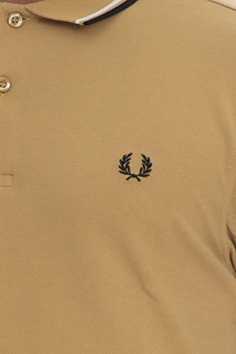 Polo Perry Twin Tipped Fred Hombre Senape Para Shirt PnqIwd