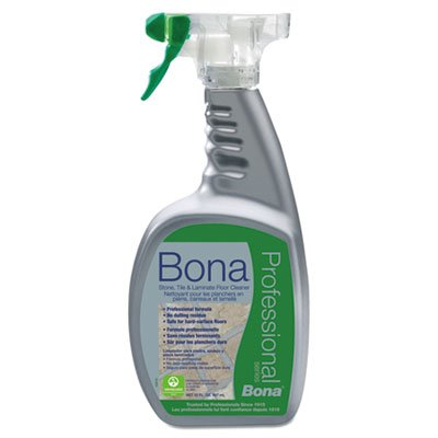 Bona Pro Series Wm700051188 Stone, Tile and Laminate Cleaner Ready To Use, 32-Ounce Spray ()