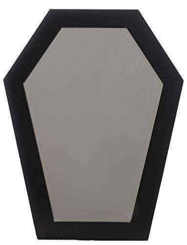 Sourpuss Coffin Mirror Black -