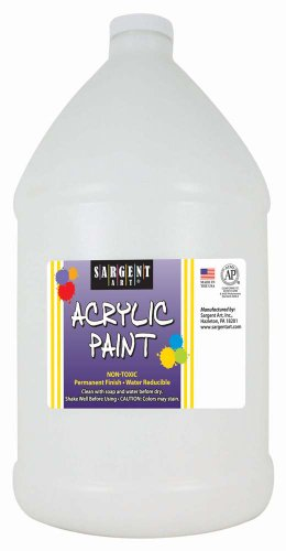 Sargent Art 22-2796 64-Ounce Acrylic Paint, White