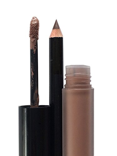 Full Size Long Lasting Natural Tones Taupe Lip Pro Matte Liquid Stick Lip Stain Lip Gloss Lip Liner Pencil Duo Set (Lip Stain Plumping)