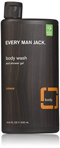 Every Man Jack Body Wash and Shower Gel, Citrus Scrub, 16.9 oz
