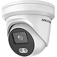 HIKVISION 4 MP ColorVu POE Network Camera DS-2CD2347G1-LU, 2688 × 1520 @30fps,Full time Color,Fixed 4mm Lens,Built-in…