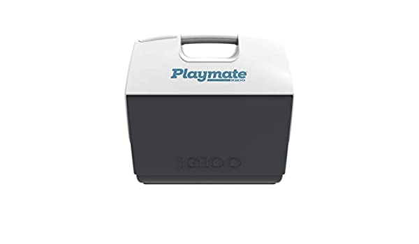 Gris//Blanco Outdoor IGLOO Playmate Elite Maxcold Nevera 15,2 litros