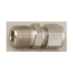 Inlet//Outlet : 1//4 Tube : OD Compression Option : Grafoil Packing Swagelok SS-3NBS4-G Severe Service Union Bonnet Needle Valve Maximum Pressure : 6,000 psi Material : 316 Stainless