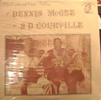The Traditional Cajun Fiddling Of Dennis McGee & S D Courville. LP by Morning Star