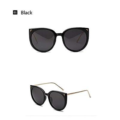ZHOUYF Gafas de Sol Oversized Cat Eye Sunglasses Mujeres Diseñador De La Marca Polaroid Gafas De Sol Conductor Mujer Gafas Espejadas Gafas, A: Deportes y aire libre