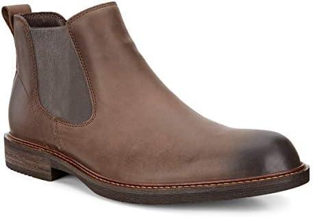 ECCO Men's Kenton Chelsea Boot, Coffee, 46 EU12 12.5 M US