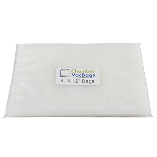 "UPC 819917012088, 400 Vacuum Chamber Pouches 3-Mil 8"" X 12"" ChamberVacBags for all Chamber Sealer Machines"