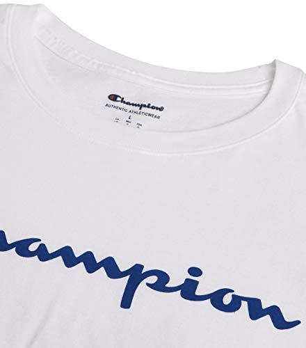 Champion Men's Classic T-Shirt, Screen Print Script