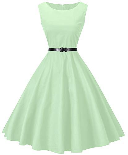 I2CRAZY 1960s Classic Vintage Swing Dress for Women(Size-XXL, F16 -