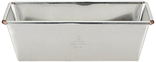 Matfer Flared 7.88 Inch Bread Loaf Pan by Matfer Bourgeat