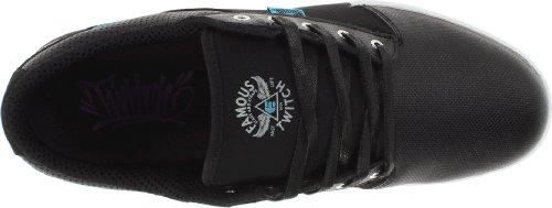 Etnies FSAS X Twitch Jefferson - zapatos con cordones hombre negro - negro