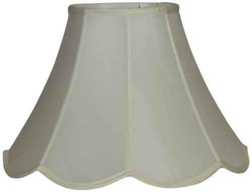 Lamp Factory Light Scalloped Pongee