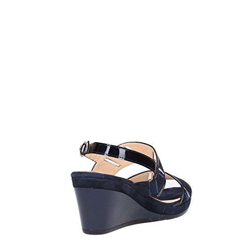 Donna R7626 Melluso Scuro Blu Sneakers 8E6WO6Bf